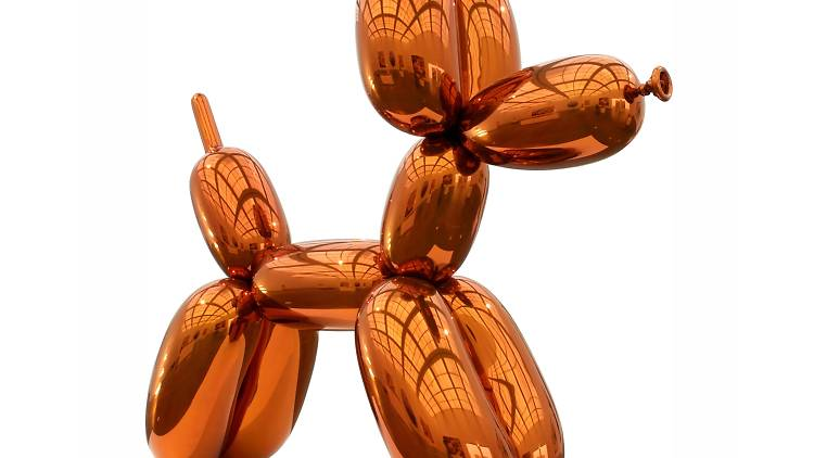 Jeff Koons 'Balloon Dog (Orange)'