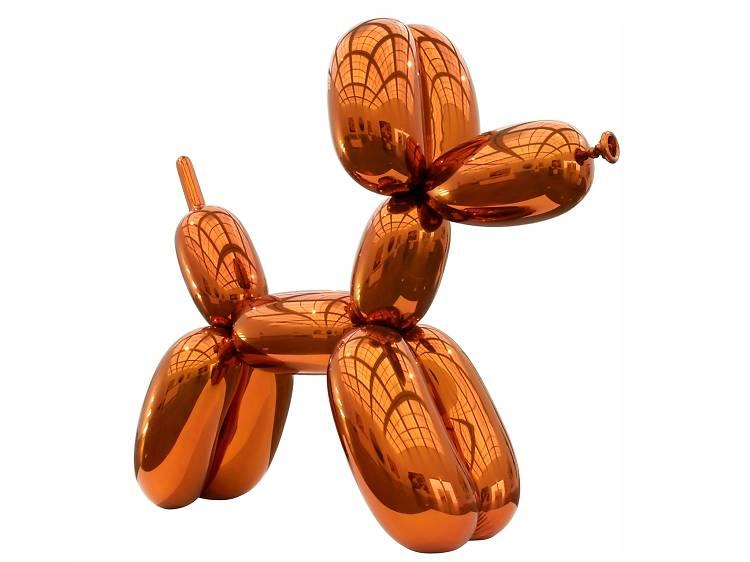 Jeff Koons 'Balloon Dog (Orange)' (1994-2000, sculpture)