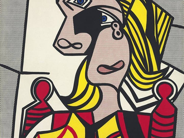 Roy Lichtenstein 'Woman with Flowered Hat' (1963, painting)