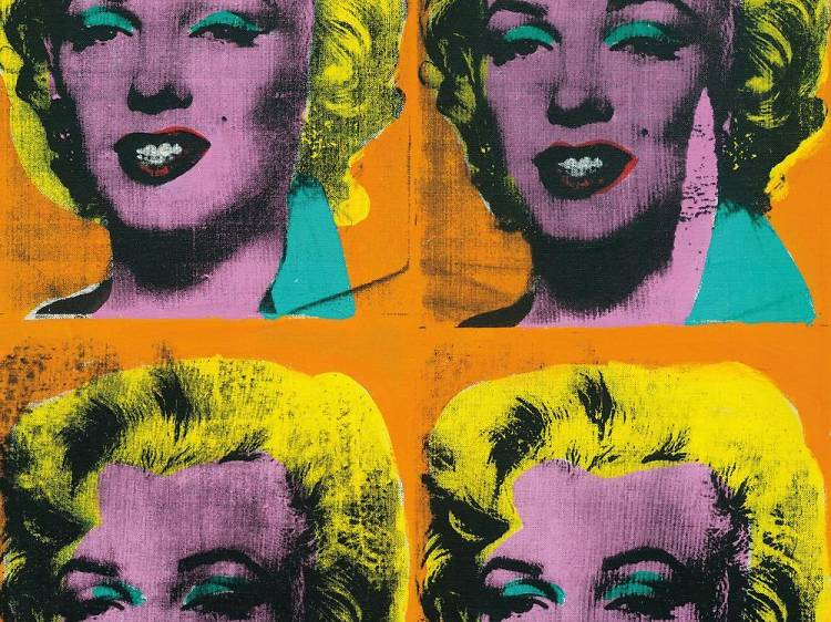 Andy Warhol 'Four Marilyns' (1962, screen print)
