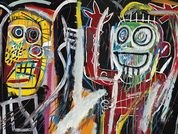 Jean-Michel Basquiat 'Dustheads' (1982, painting)