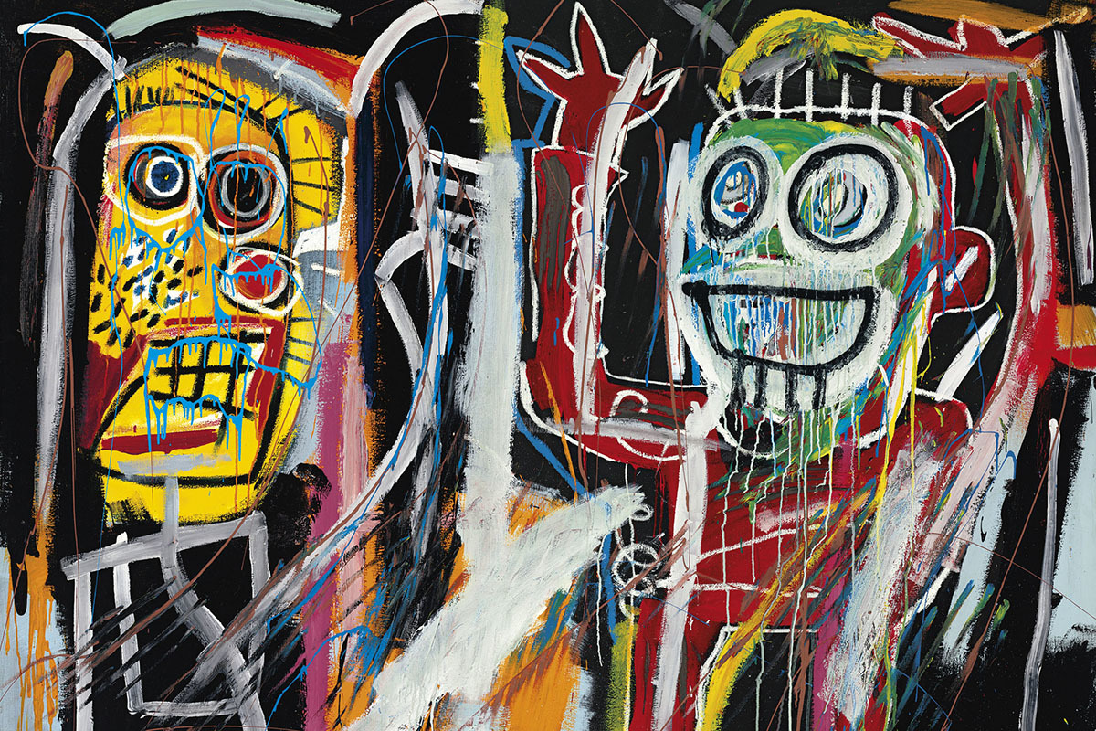 Jean-Michel Basquiat 'Dustheads' (1982, painting)