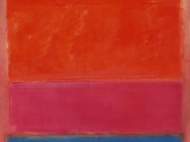 Mark Rothko 'No 1 (Royal Red and Blue)' (1954, painting)
