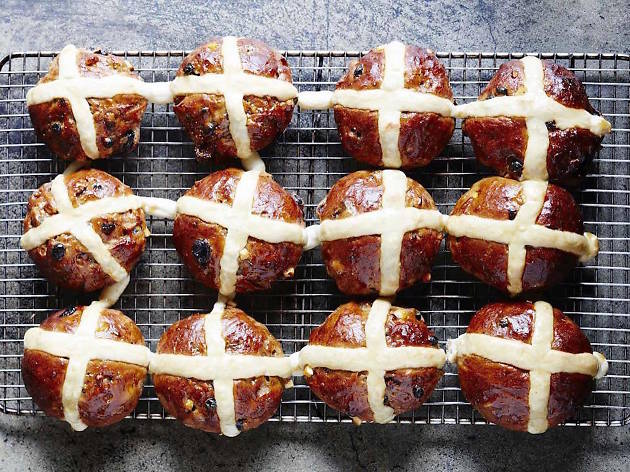 Tivoli Road Bakery hot cross buns