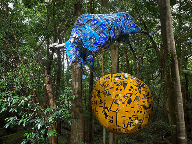 Sculpture at Scenic World