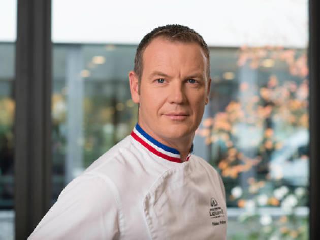 Chef Fabien Pairon at Capella Singapore