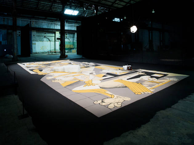 Biennale Carriageworks 1 (Photograph: Ben Symons)