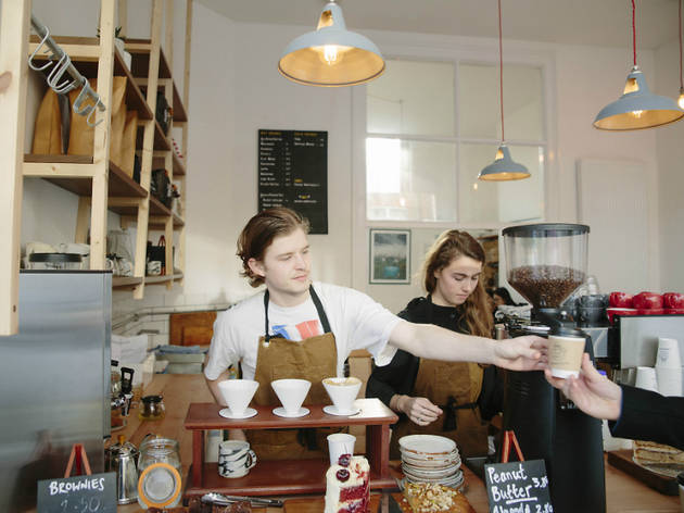 Best cafes and coffee shops in London, Lumberjack, 2016