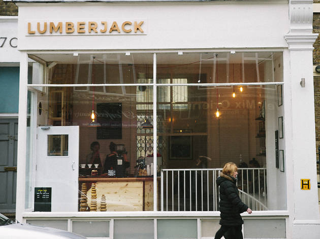 Lumberjack coffee shop, 2016