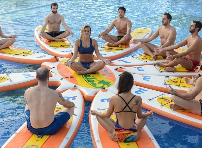Pilates SUP & Pool