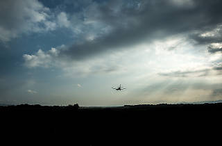 Mirador de l'aeroport de Girona