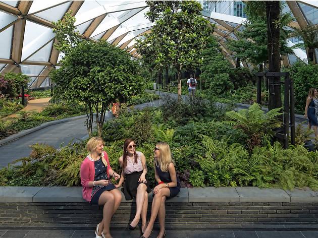 Crossrail Place Gardens