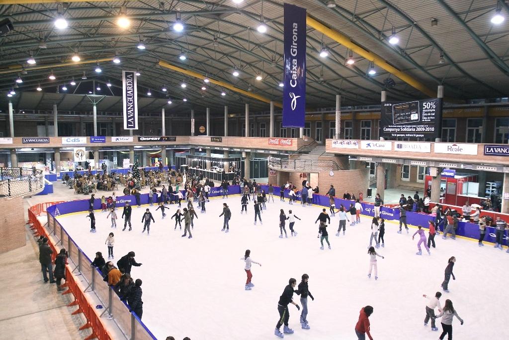 Una pista de gel