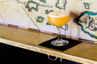 Classic Pisco Sour at Desnuda