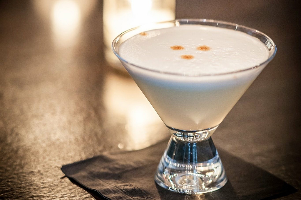 Pisco Sour at Raymi