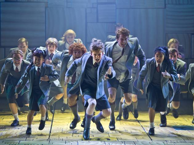 A production still for Matilda the Musical at the Sydney Lyric Theatre