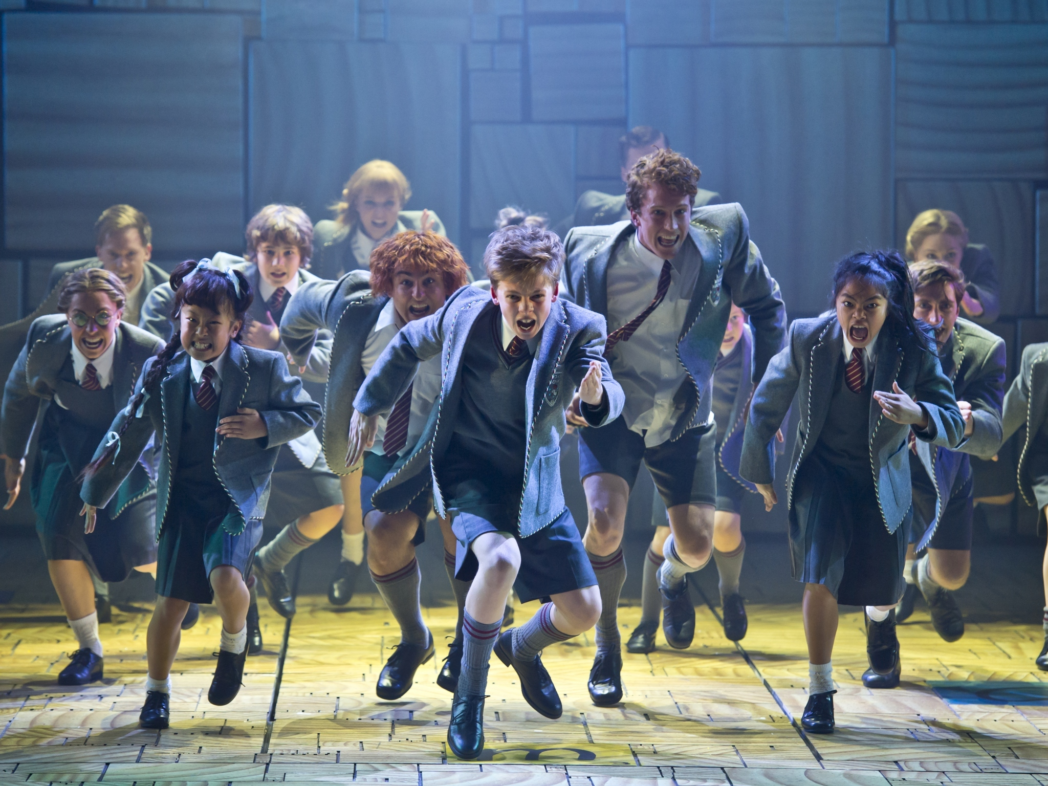 Matilda won all the Helpmanns last night, so buy a ticket while you can
