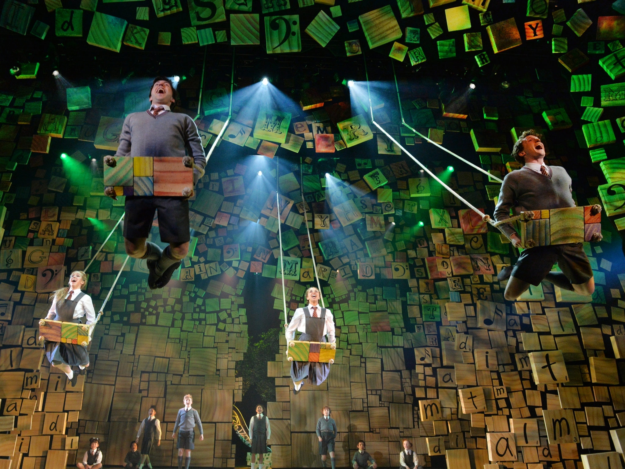 Matilda wins all the Helpmann Awards