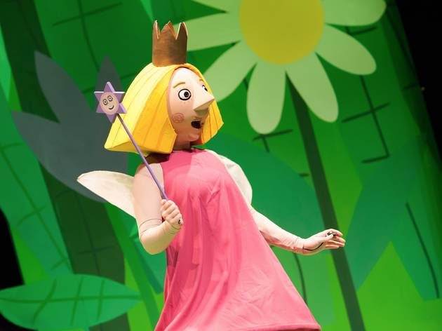 Performer from Ben and Holly's Little Kingdom stage show