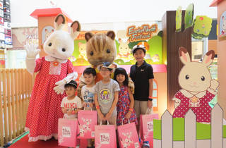 Easter celebrations with the Sylvanian Families