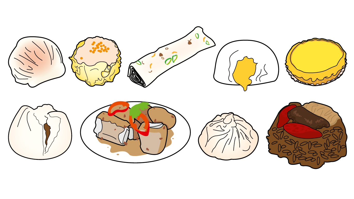 Guide to dim sum