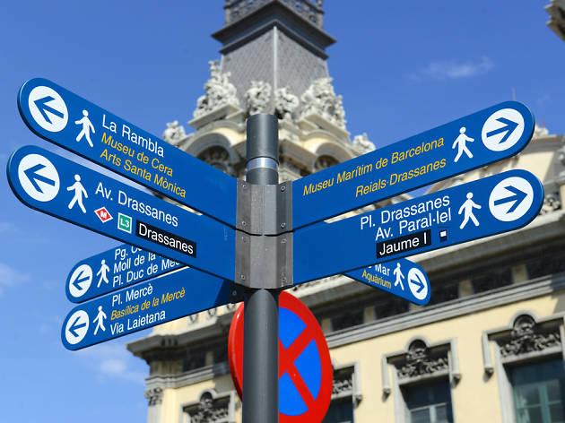 Barcelona senyal