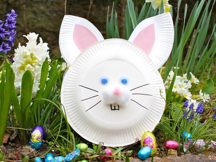 Tuto facile – Un panier-lapin pour les œufs de Pâques