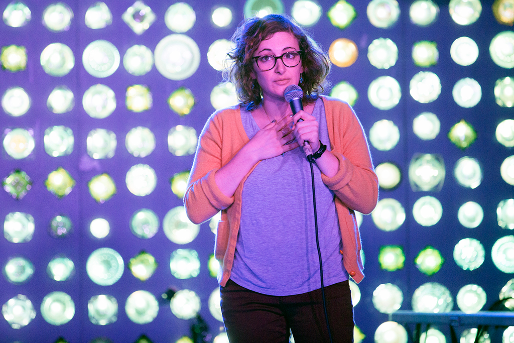 Jo Firestone is the hardest working comedian in New York