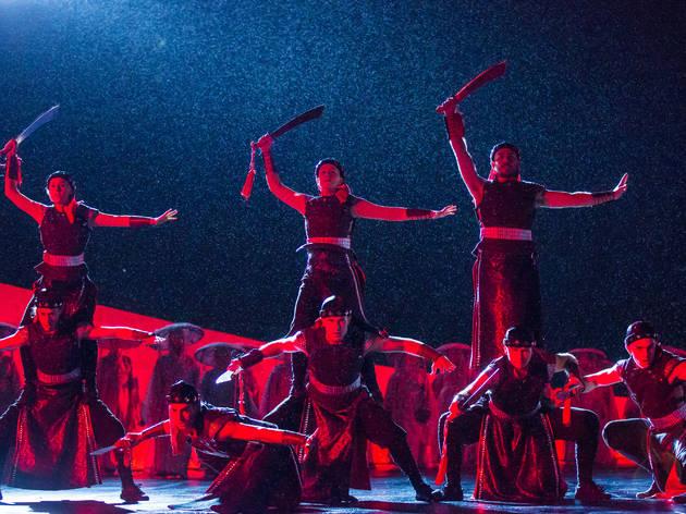Turandot 2016 sword dancers (Photograph: Daniel Boud)