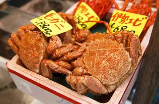 tsukiji crabs