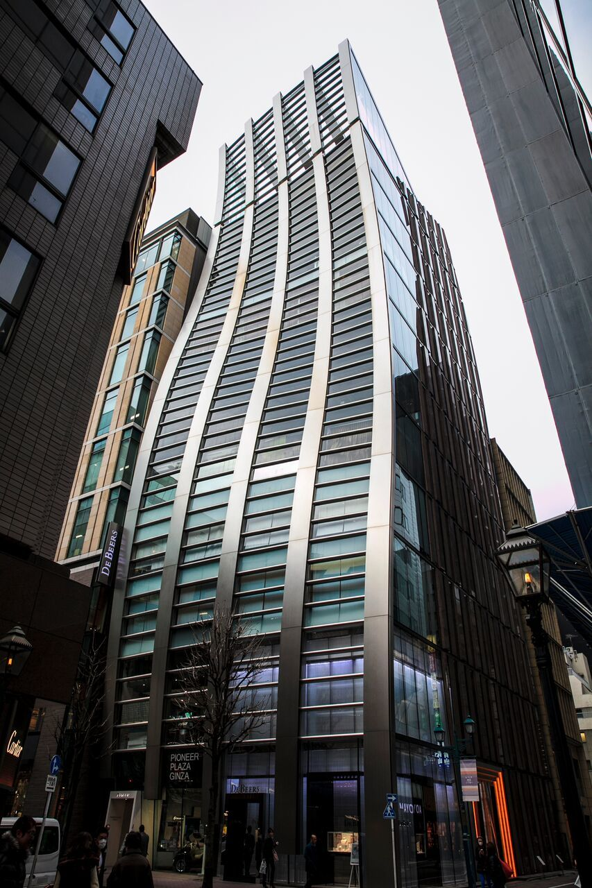 Architecture Walk Marunouchi And Ginza Time Out Tokyo
