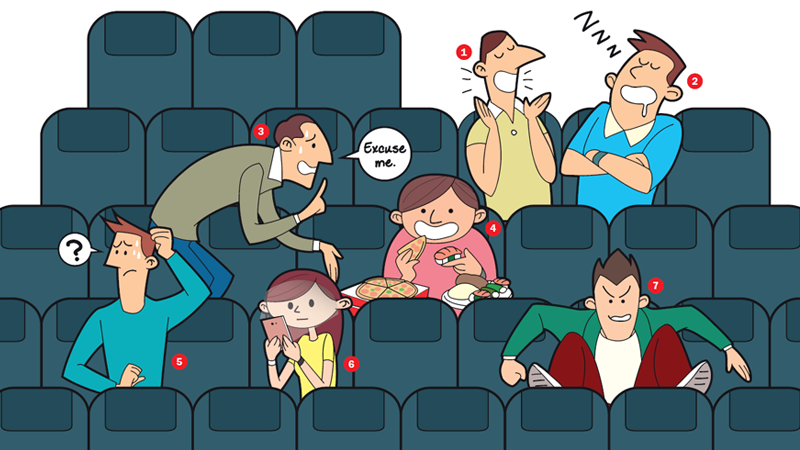 The seven species of cinema-goers
