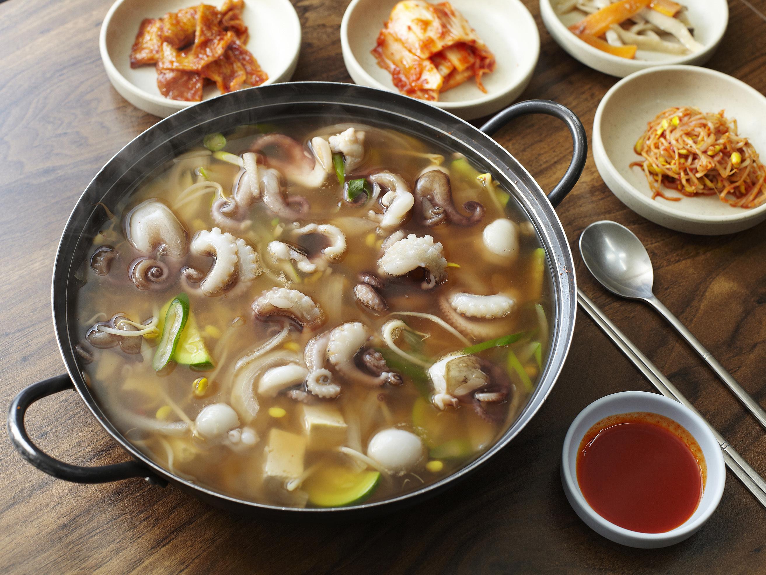 Jjukkumi stew | Sam-o Jjukkumi