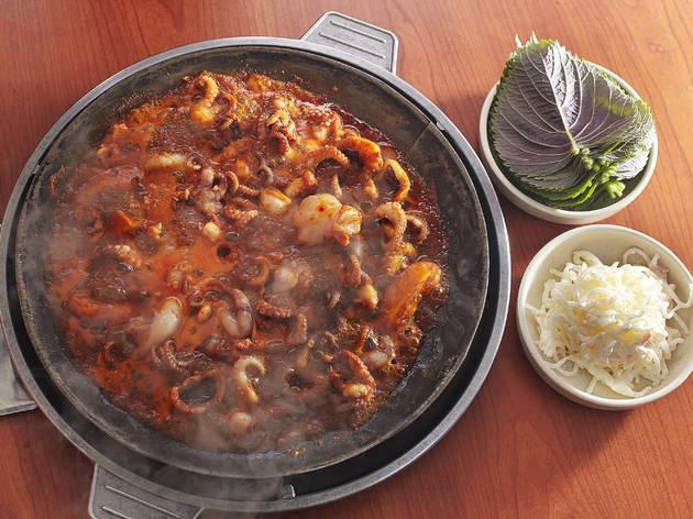 호남식당 나정순할매쭈꾸미 주꾸미