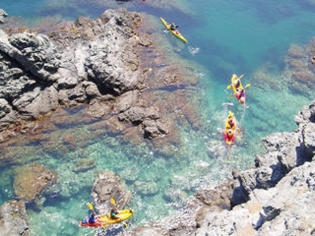 Family Kayaking in Llança Costa Brava