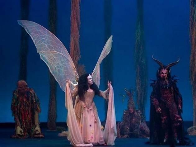 Morboria en el bosque de Shakespeare