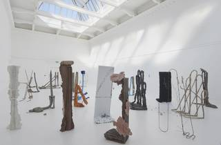 (Michael Dean: 'Sic Glyphs' at the South London Gallery, 2016. Courtesy the artist, Herald St, London, Mendes Wood DM, Sao Paulo, Supportico Lopez, Berlin. Photo: Andy Keate)