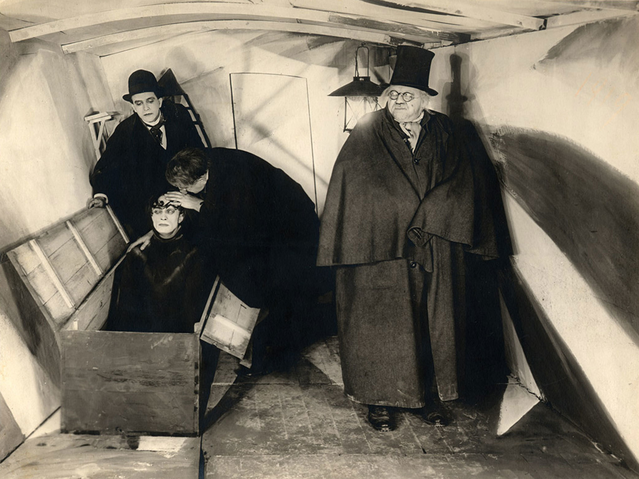 The 100 best horror films, horror movies, Cabinet of Dr Caligari