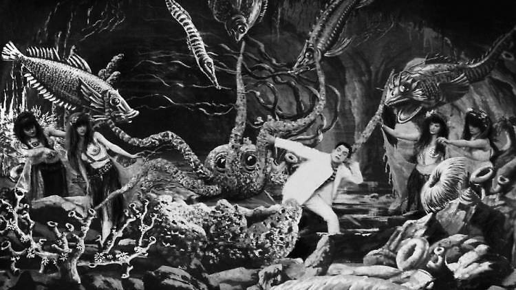 La sirenita de Georges Méliès