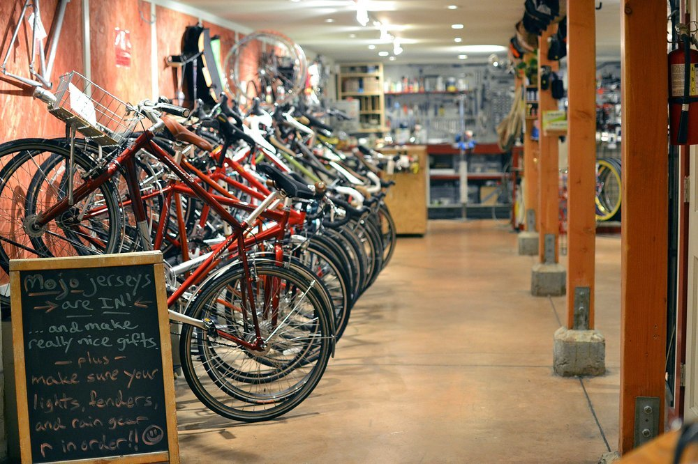 Mojo Bicycle Café