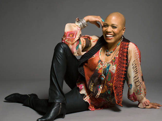 Dee Dee Bridgewater belts it out