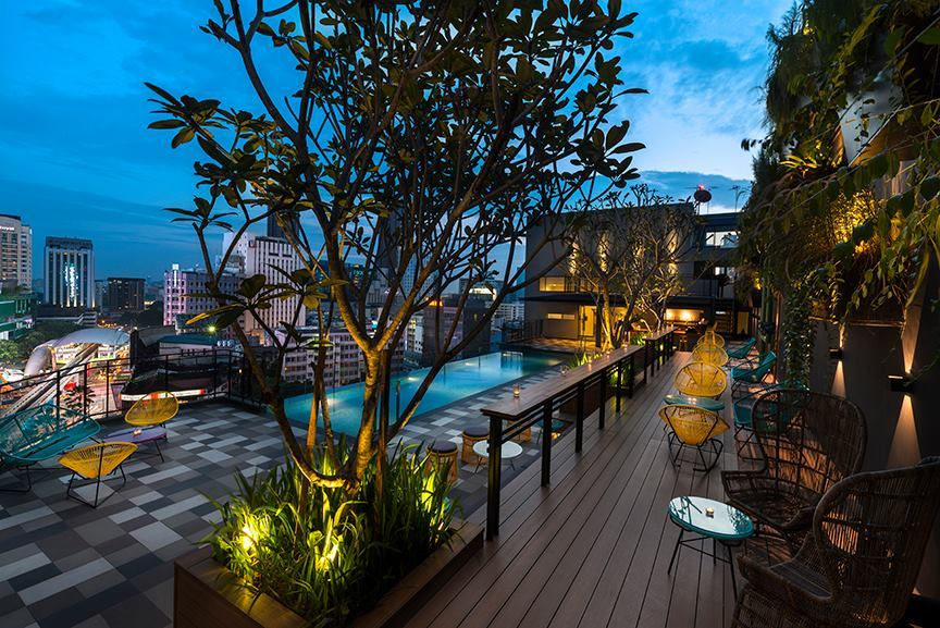 The best boutique hotels in kl for Best hotel swimming pool in kuala lumpur