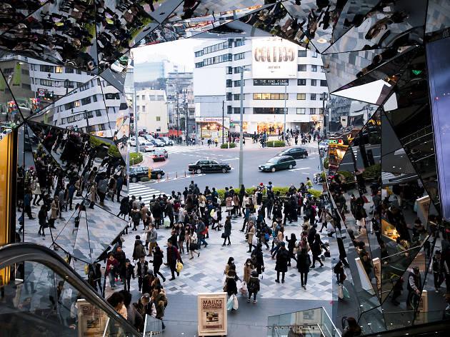 Trendsetting walk: Harajuku/Omotesando