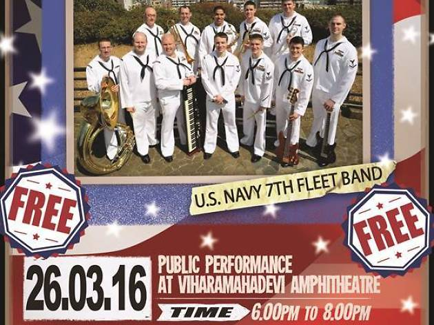 U.S. Navy's 7th Fleet Band Pacific Ambassadors
