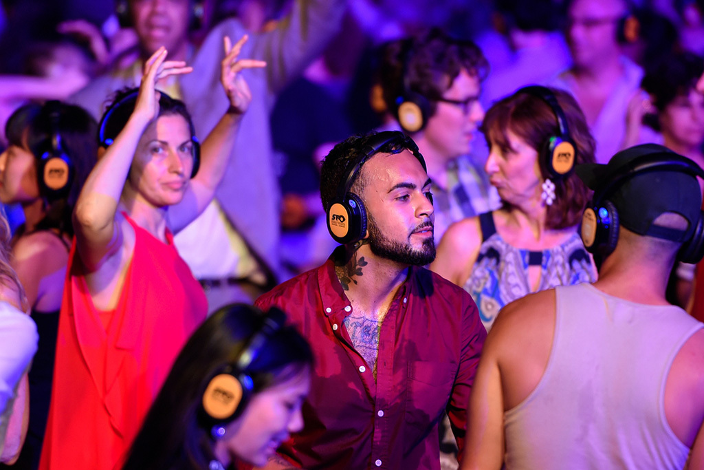 Lincoln Center silent disco