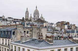 Paris vu d'en haut toits parisiens rooftop Montmartre