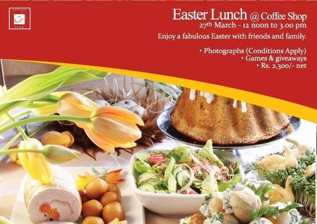 Easter lunch at Coffee Shop