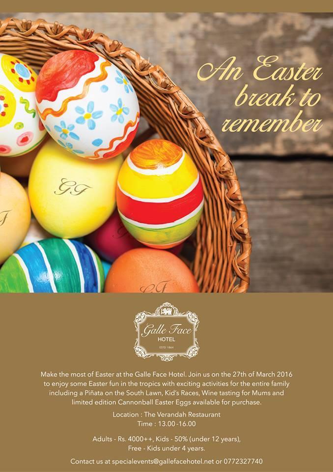 Easter at The Verandah