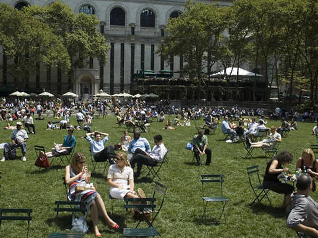 Bryant Park's free family activities are starting up again!