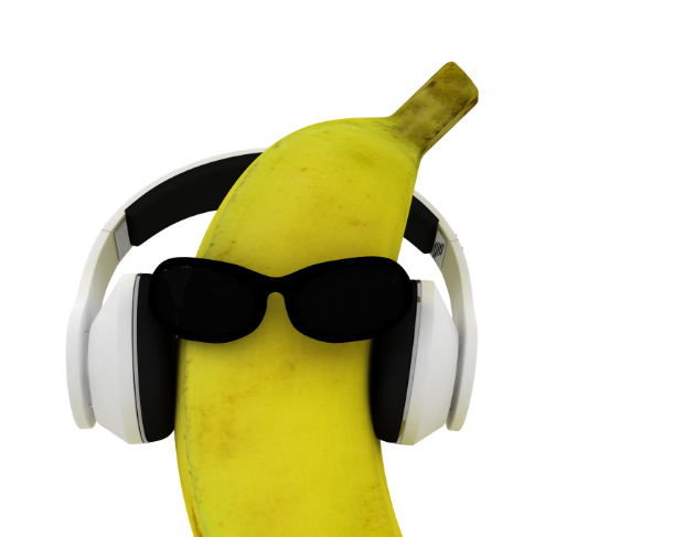 La banane en musique